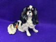 Eve Pearce Hand-Made Model - Cavalier King Charles Spaniel Tri